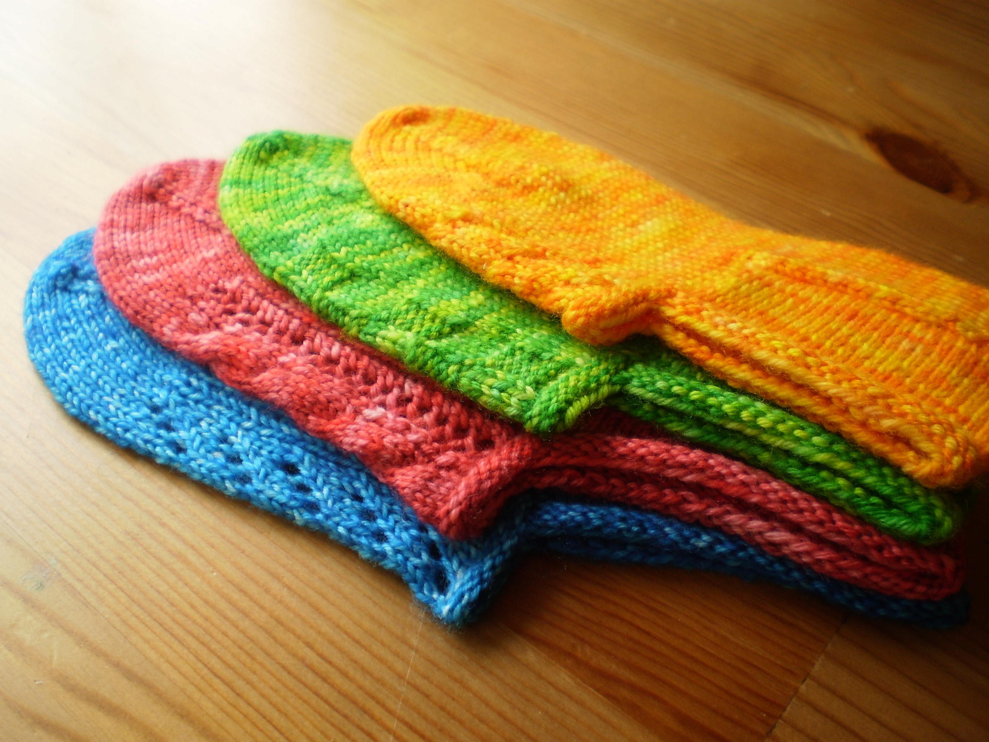 Pattern Spotlight: Turkish Bed Socks | On the Needles