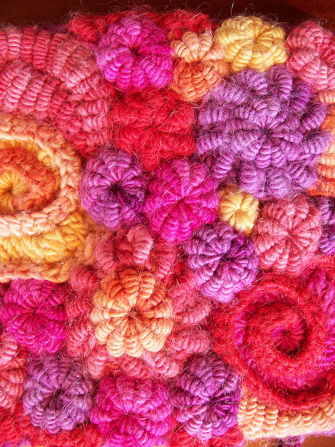 free form knitting | On the Needles
