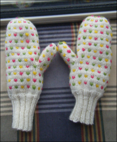 Knitting Pattern For Thrum Mittens : thrum On the Needles