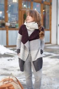 Swans Island yarn Fair Isle hand knits