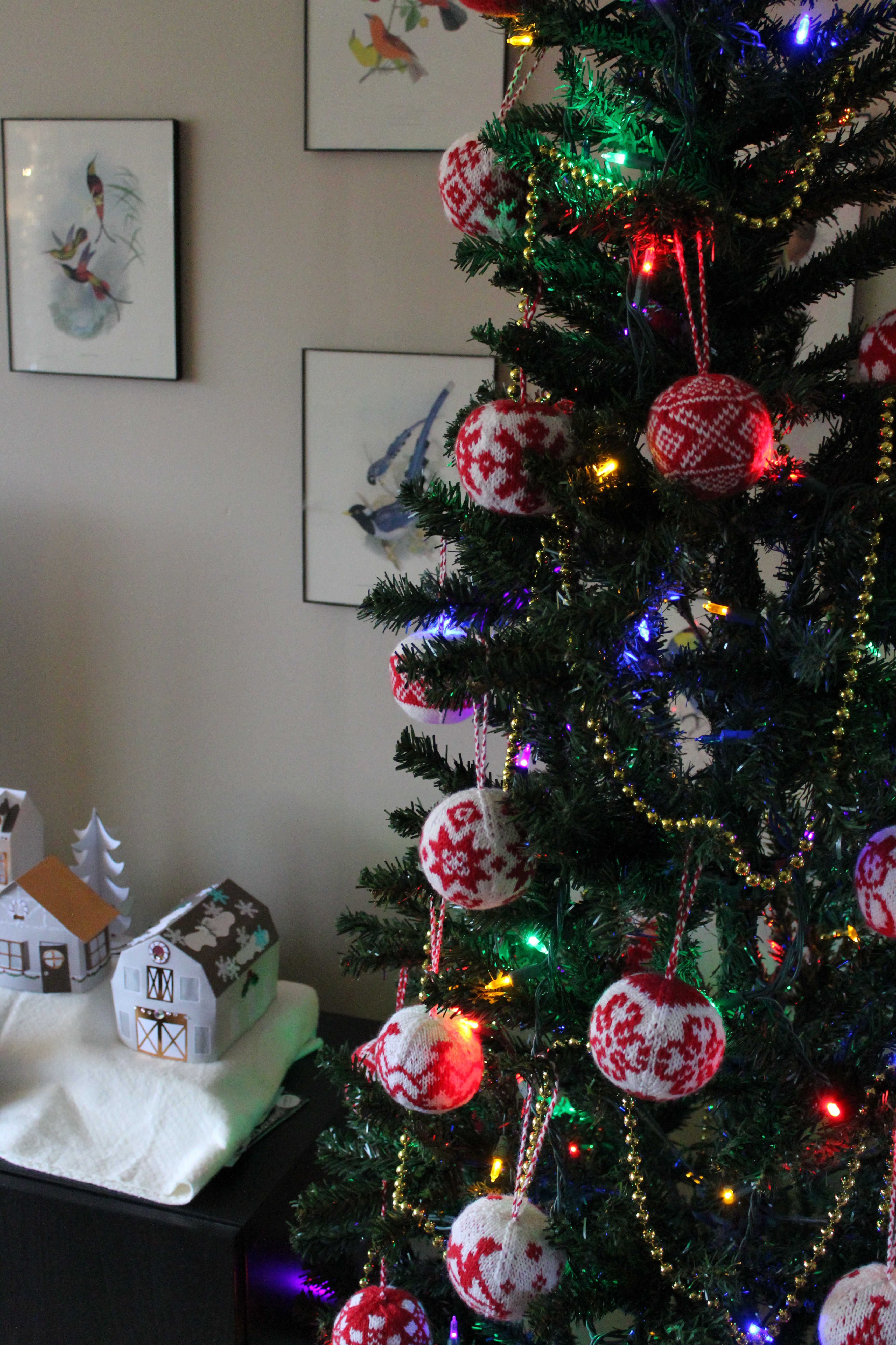 christmas ornaments | On the Needles