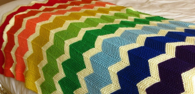 blanket | On the Needles