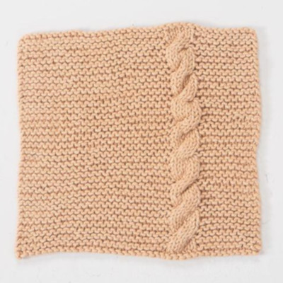 Twined Dishcloth